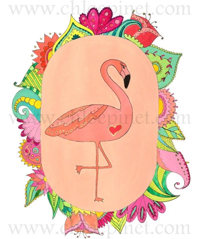 flamingo flores